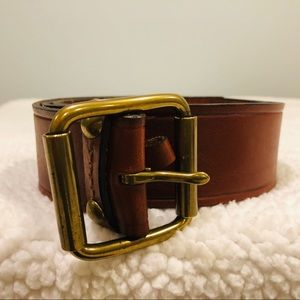 Banana women's leather belt